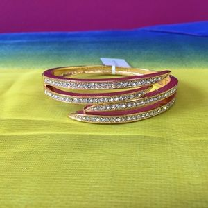 Charter Club Rose Gold Rhinestone Bracelet NWT